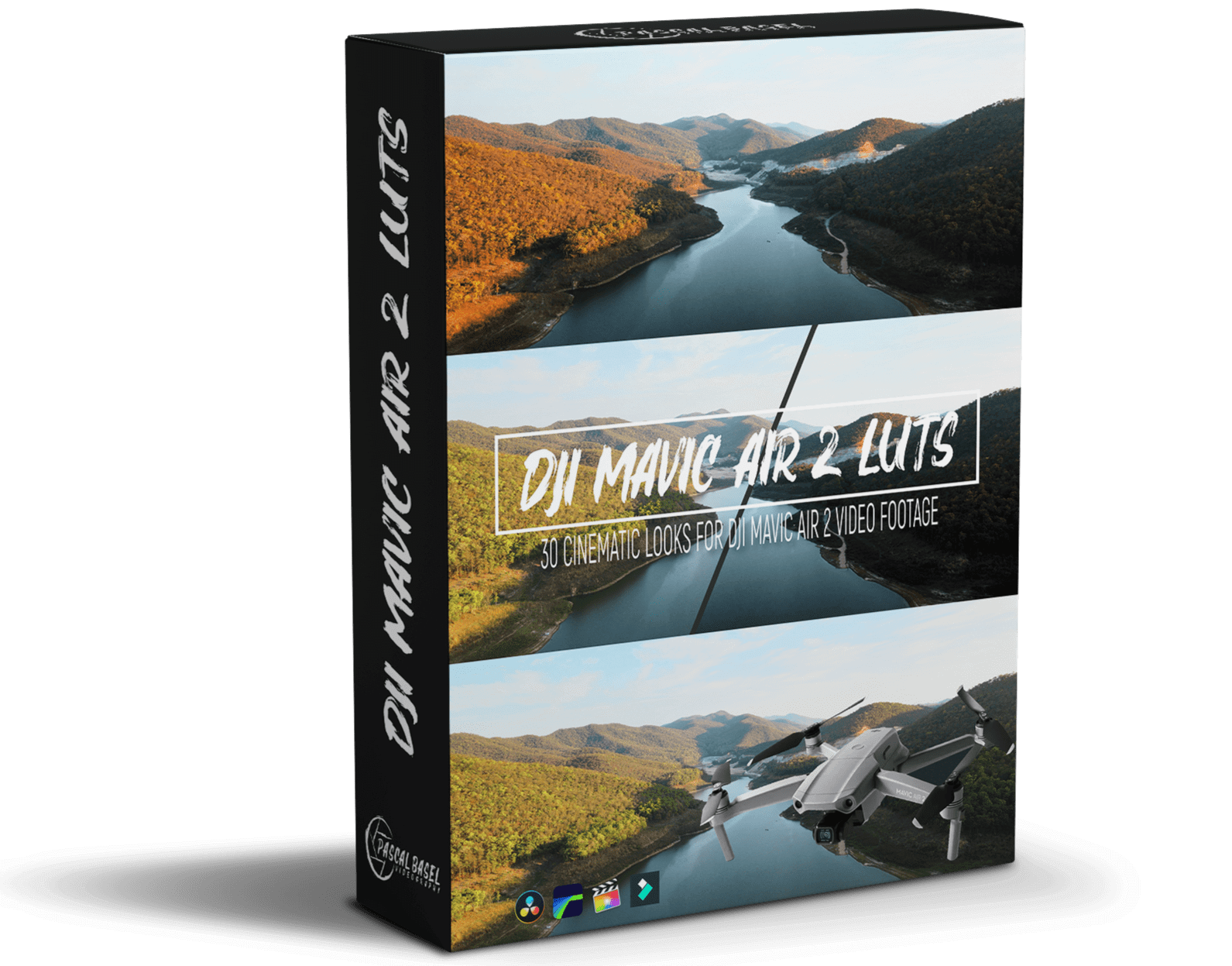 DJI Mavic Air 2 Cine LUTs