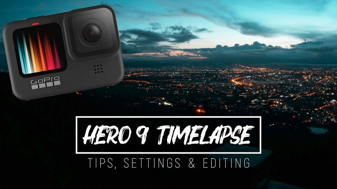 GoPro Hero 9 Black Time-Lapse – Tips, Settings & Editing